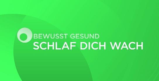 "ORF-Initiative ""bewusst gesund: Schlaf dich wach"" - Logo"